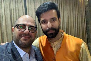 Naum Koen Наум Коэн Наум Коен with Aamir Ali