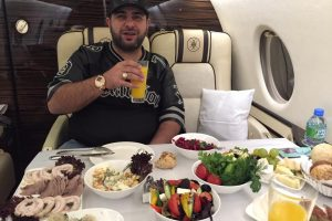 Naum Koen Наум Коэн Наум Коен in his private jet