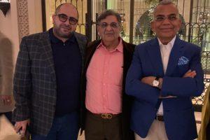 Naum Koen Наум Коэн Наум Коен with Cyrus S. Poonawalla