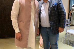 Naum Koen Наум Коэн Наум Коен with Arbaaz Khan