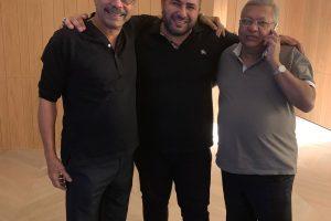 Naum Koen Наум Коэн Наум Коен with Naresh Trehan and Ravi Jaipuria