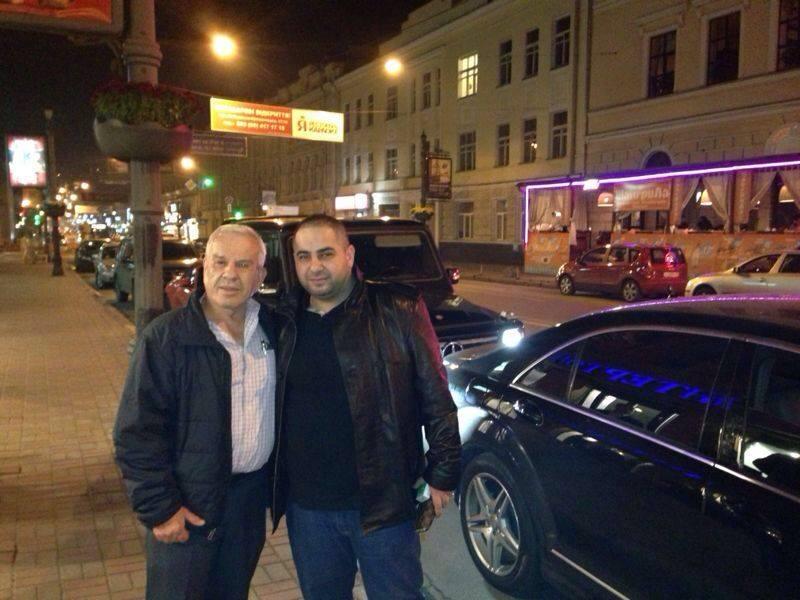 Naum Koen Наум Коэн Наум Коен with Dr. Eli Fisher