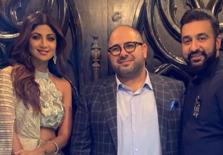 Naum Koen Наум Коэн Наум Коен with Shilpa Shetty and Raj Kundra