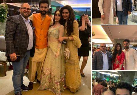 Naum Koen Наум Коэн Наум Коен with Aamir Ali, Arbaaz Khan, Addita Gupta and Karisma Tanna