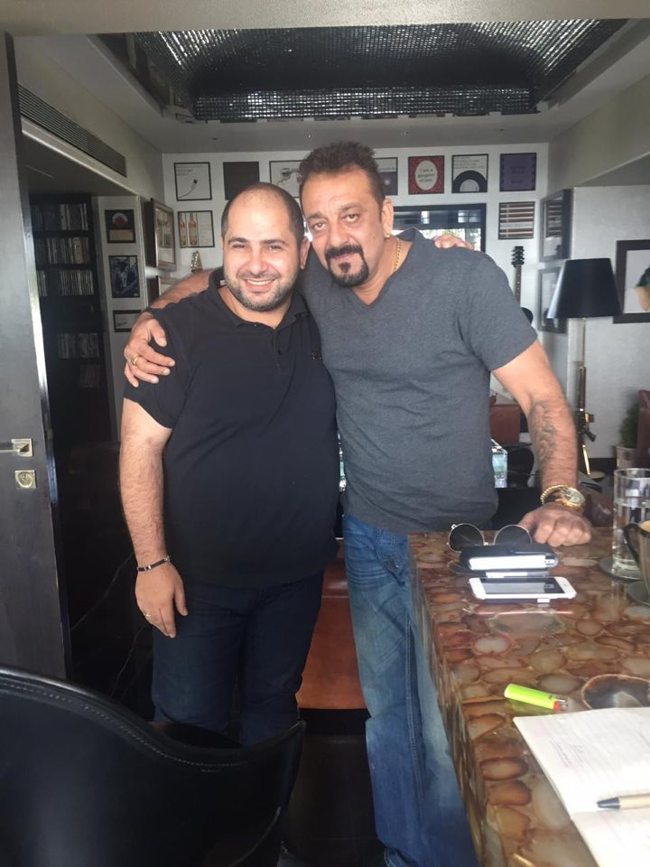 Naum Koen Наум Коэн Наум Коен with Sanjay Dutt