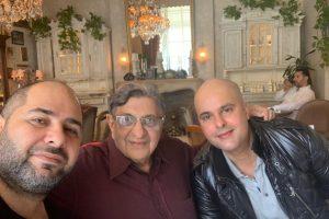 Naum Koen Наум Коэн Наум Коен with Cyrus S. Poonawalla and Vikram Singh Lamba