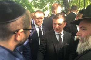 Naum Koen Наум Коэн Наум Коен with Volodymyr Zelensky